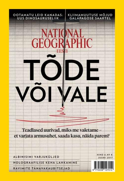 National Geographic Eesti juuni, 6/2017