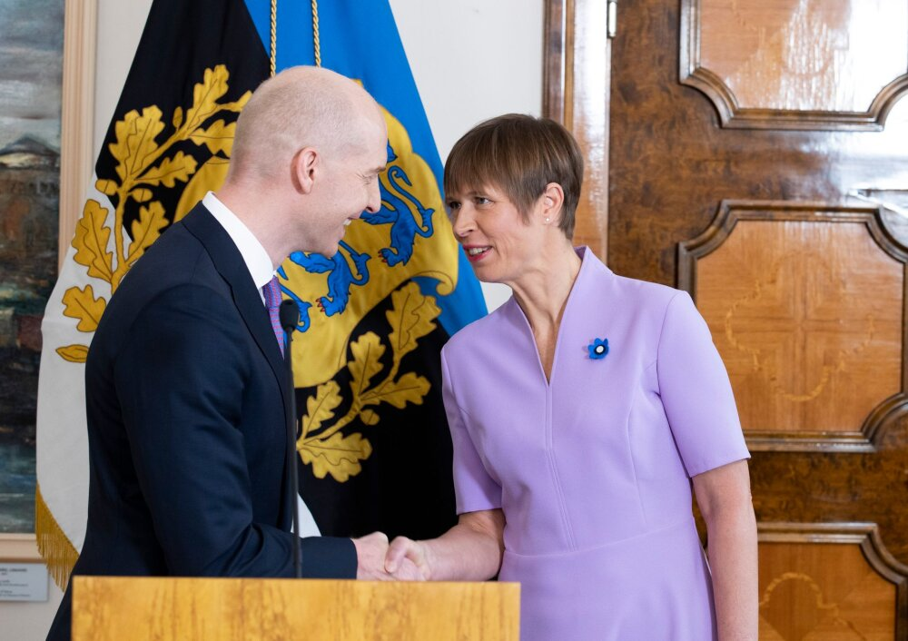 President nimetas ametisse Eesti Panga uue presidendi: