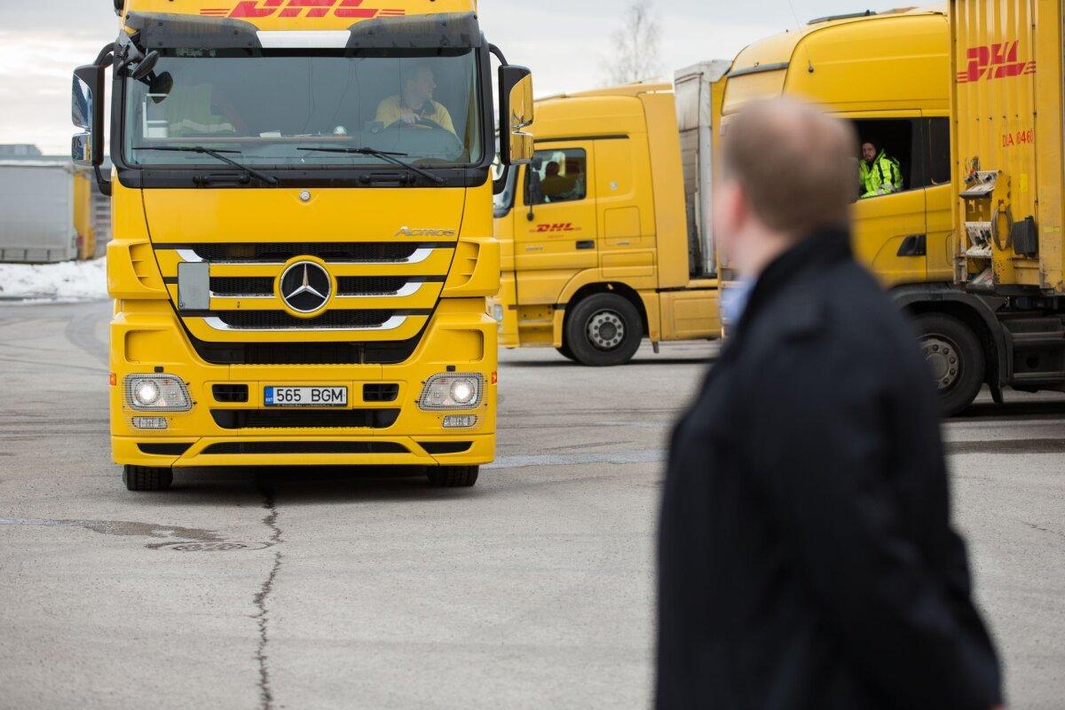 Poola veokid maksid teemaksu välisriikidest kõige enam