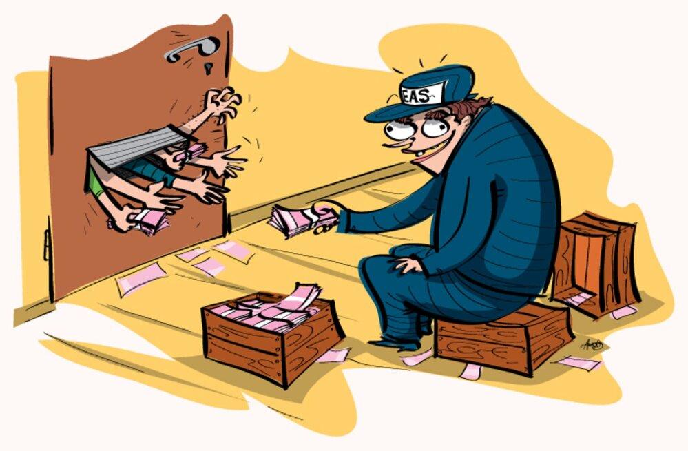 Maksuvõlglaste paitamine peab lõppema