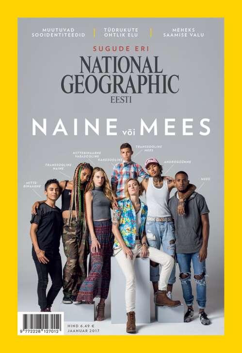 National Geographic Eesti jaanuar, 1/2017