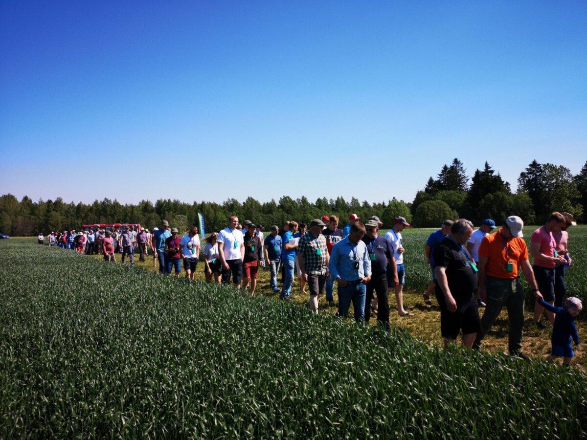 KEVILI põllupäev keskendus keskkonnasäästlikule tootmisele