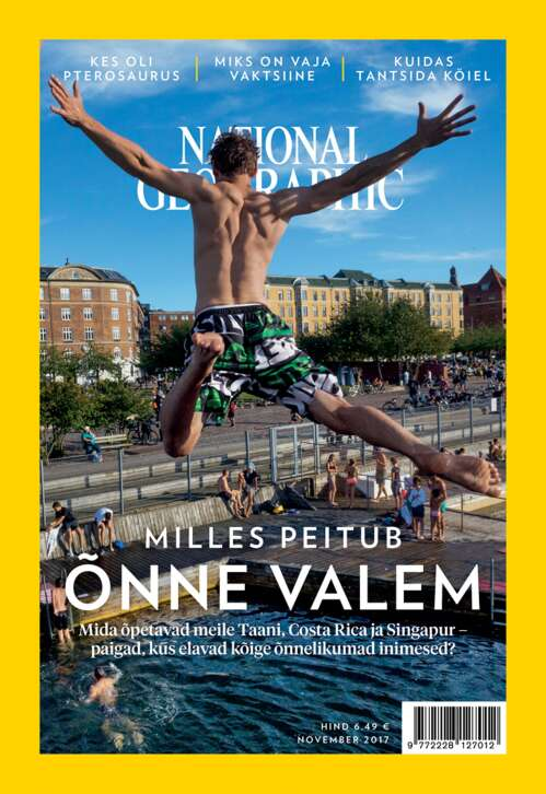 National Geographic Eesti november, 11/2017