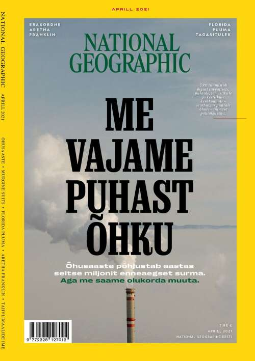 National Geographic Eesti, 4/2021