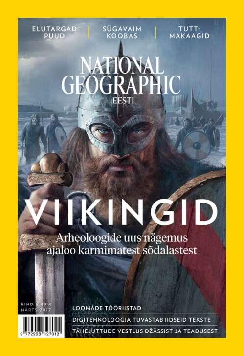 National Geographic Eesti märts, 3/2017