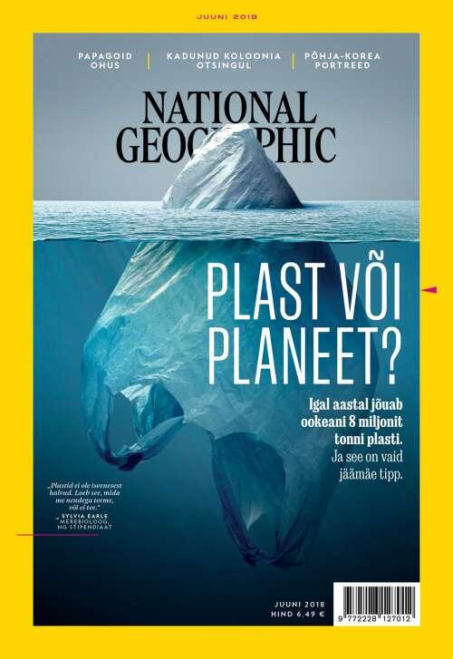 National Geographic Eesti juuni, 6/2018