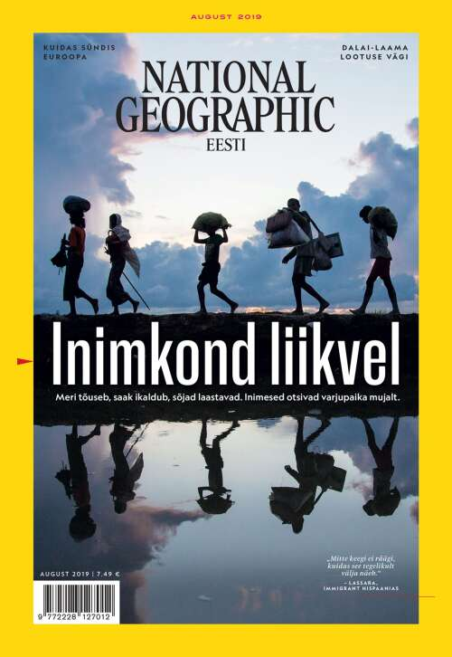 National Geographic Eesti, 8/2019