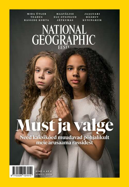 National Geographic Eesti aprill, 4/2018