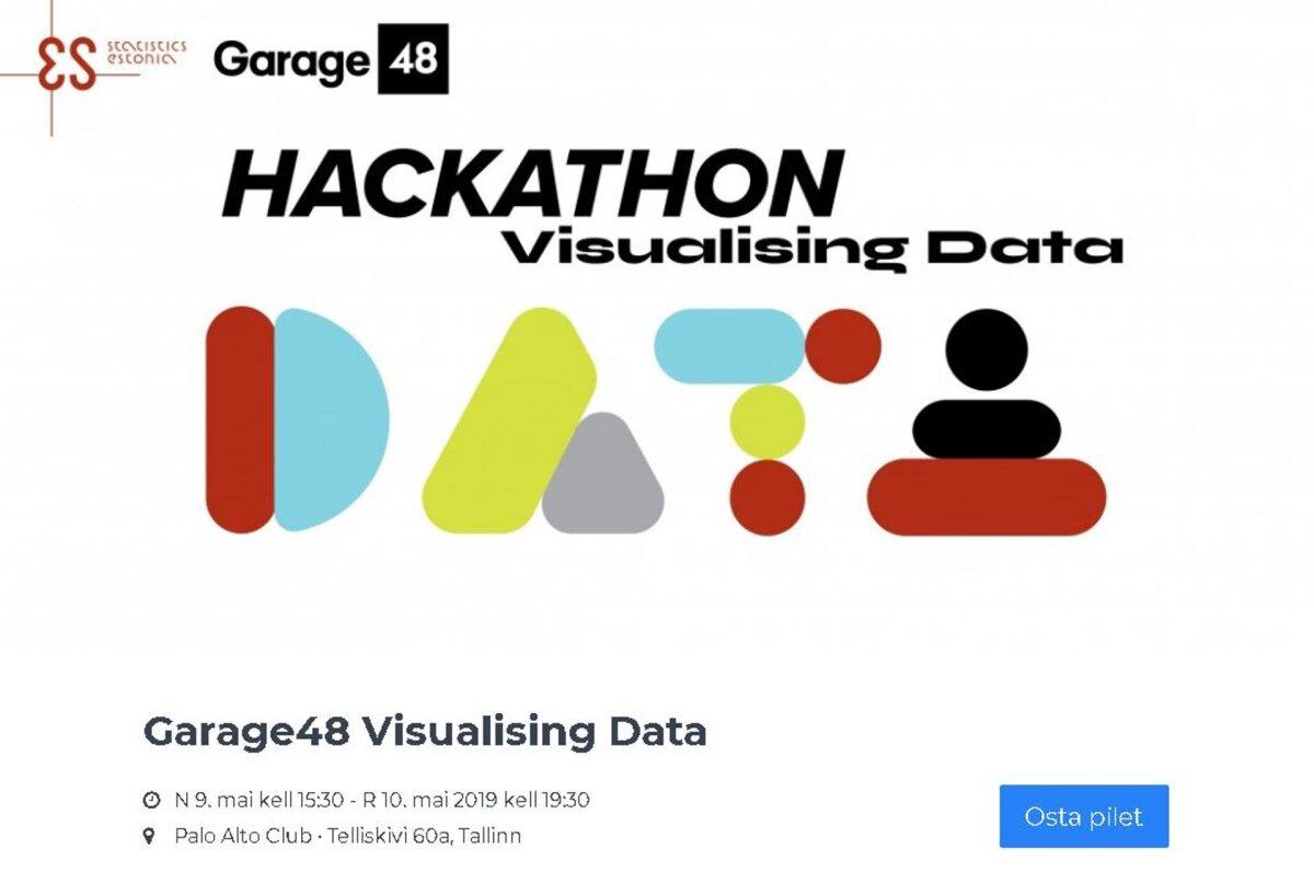 Mais toimub esimene andmete visualiseerimise häkaton