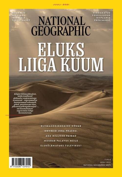 National Geographic Eesti, 7/2021