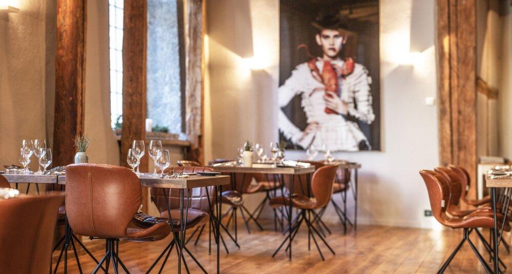 """546c1efa153 Söe meeldivast interjöörist jättis parema mulje vaid Eesti restoranimaailma  tippkoka valmistatud toit. Foto: Raul Mee. """""""
