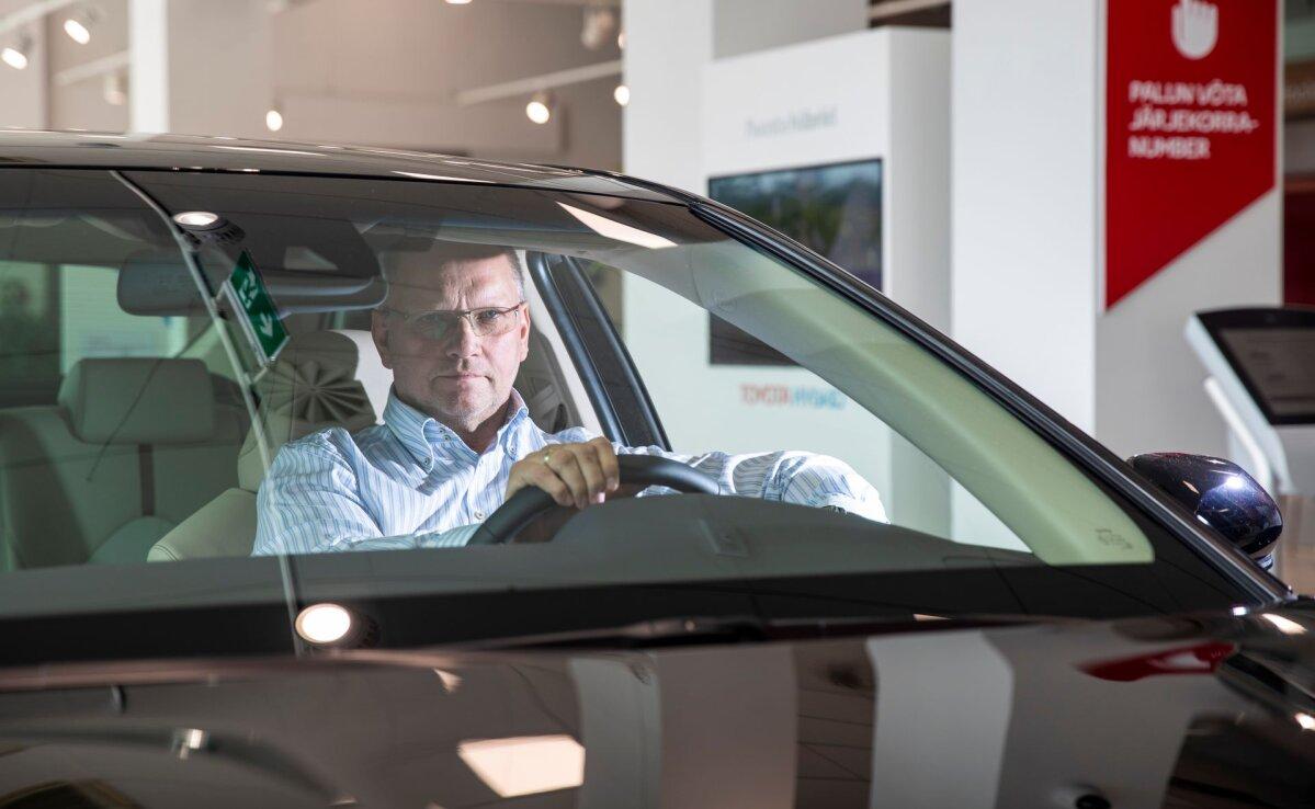 Automüük jälle kerges languses