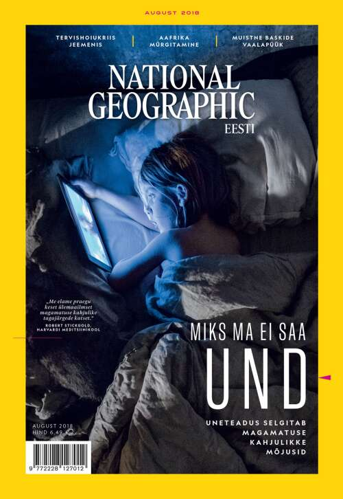 National Geographic Eesti august, 8/2018