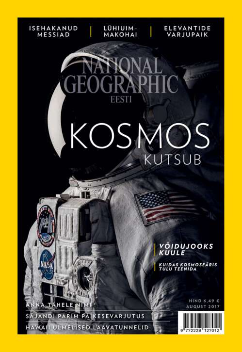 National Geographic Eesti august, 8/2017