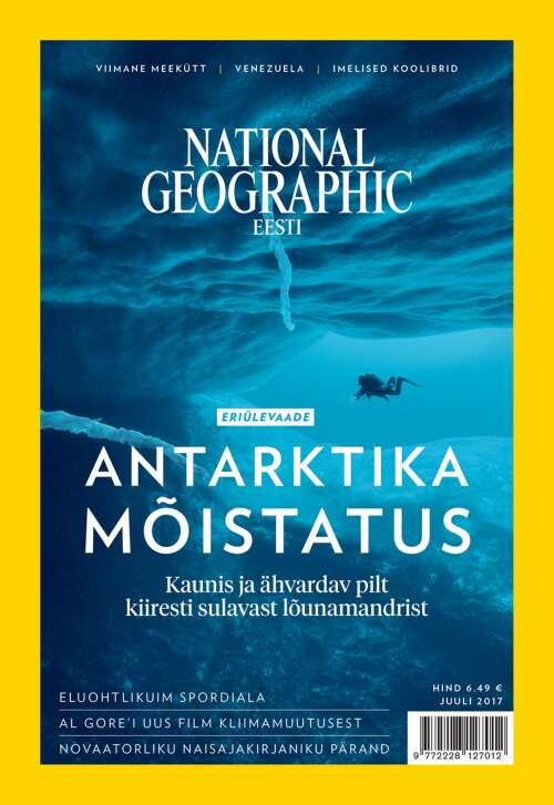 National Geographic Eesti juuli, 7/2017