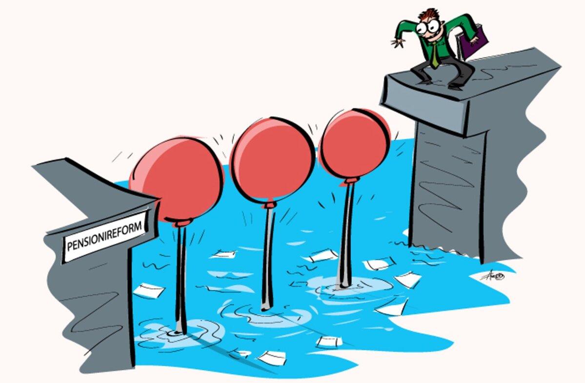 Tuleproov teeb pensionireformile head