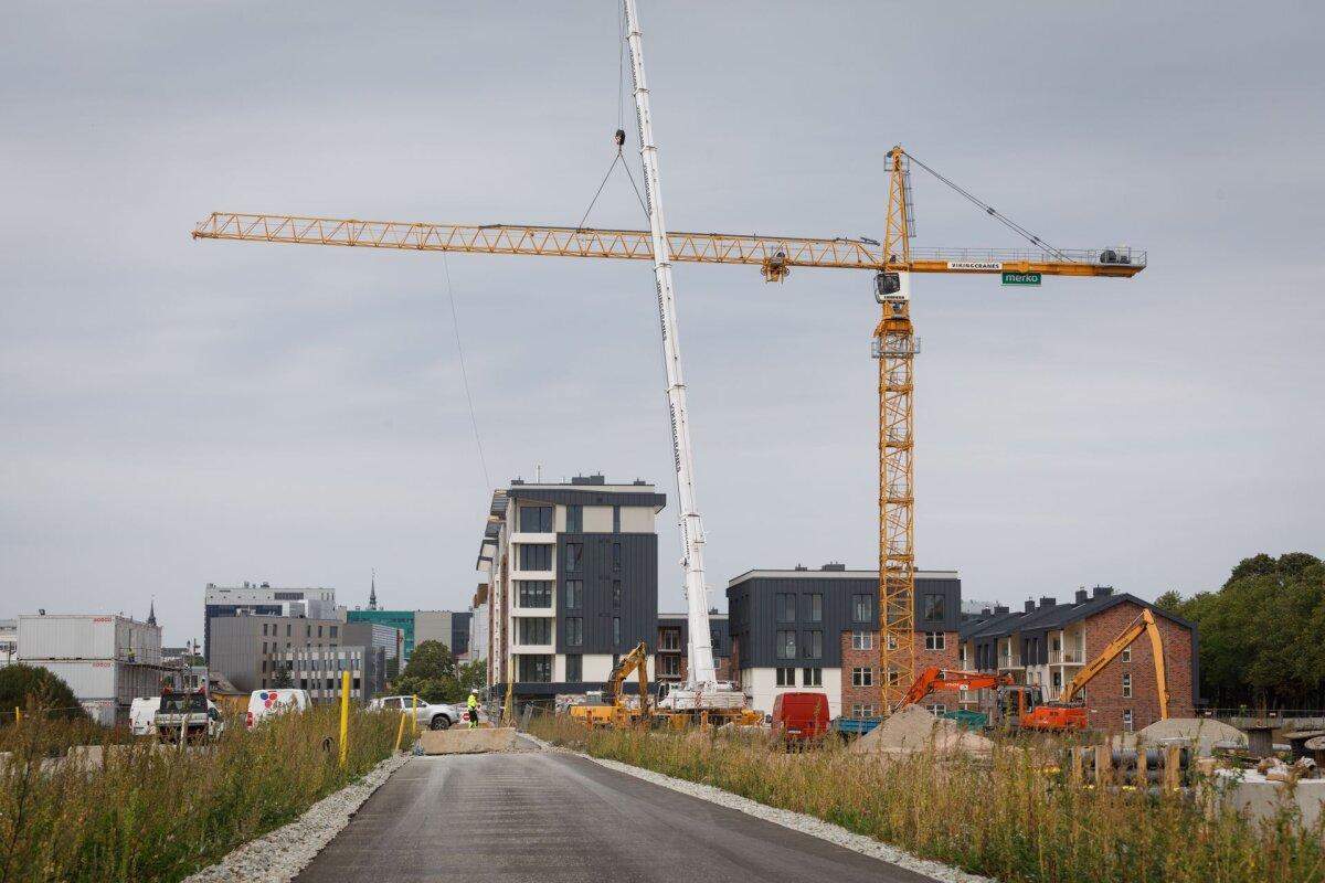Välismaal ehitamine kasvatab jätkuvalt ehitusmahtu