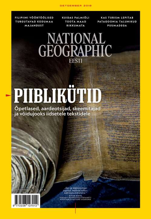 National Geographic Eesti detsember, 12/2018