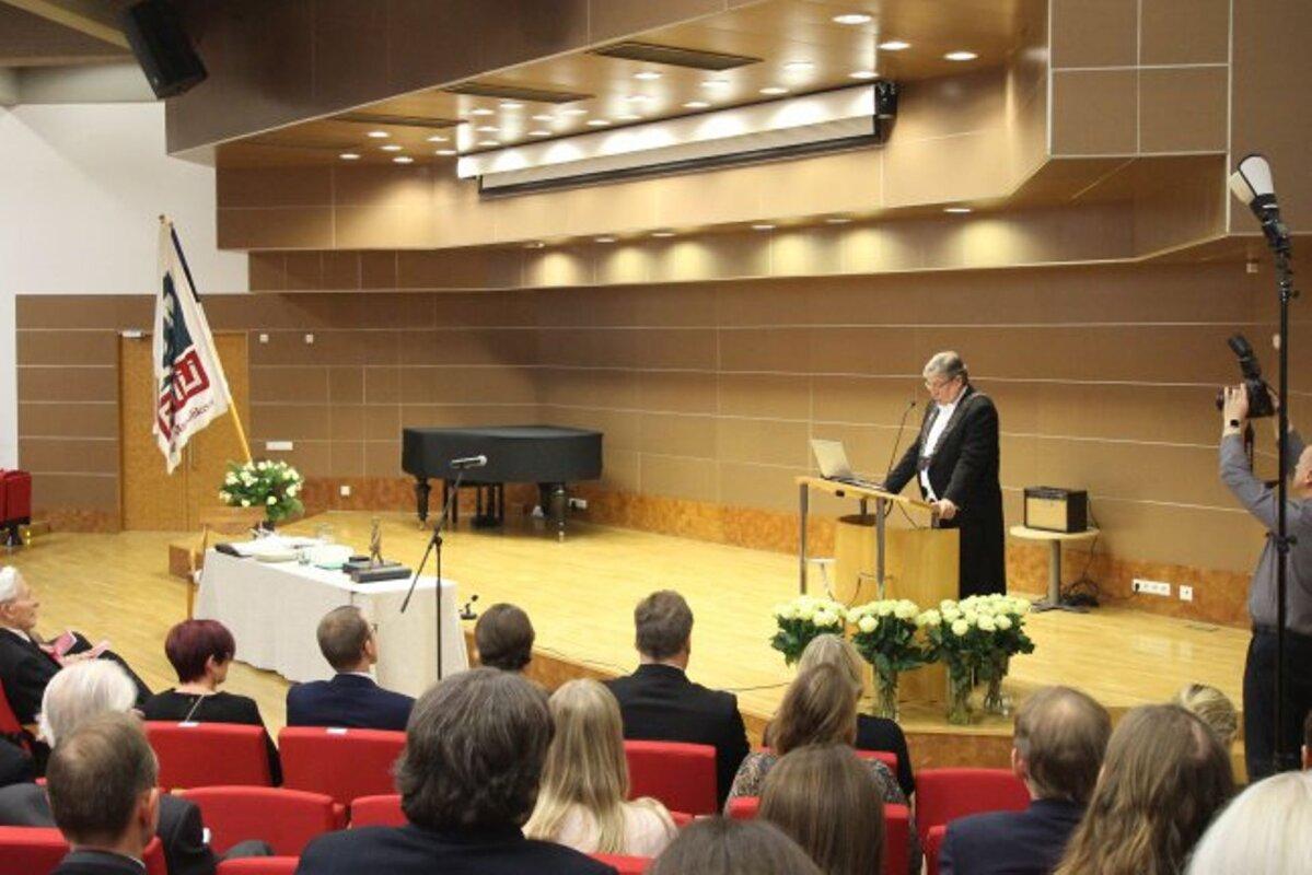 Rektor pidupäevakõnes: meie loodud teadmist kasutab kogu maailm