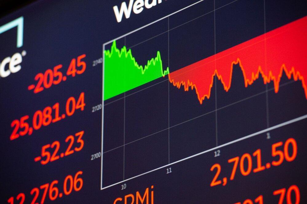 870d637f6c4 Börs: nafta toibus, kuid aktsiad jätkasid langust