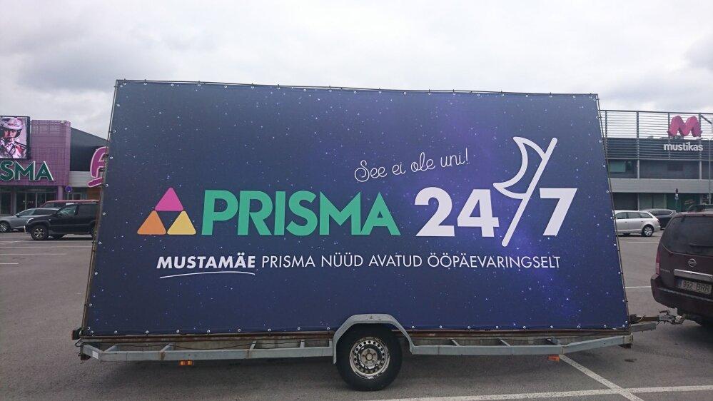 f7ad934b763 Prisma avab Mustamäe hüpermarketi ööpäevaringselt