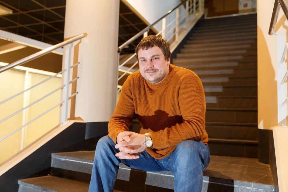 f613d9cfb7d Pindi Kinnisvara juhatuse liige Peep Sooman. Foto: Andres Haabu. Eesti  kinnisvarabürood ...