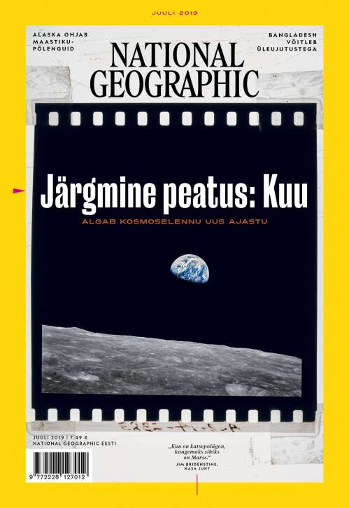 National Geographic Eesti, 7/2019