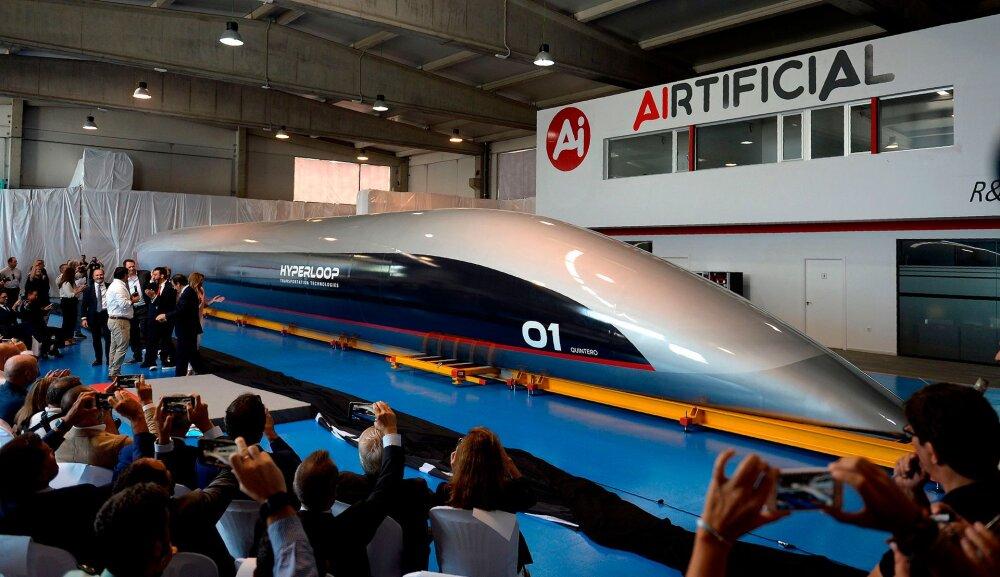 Prantsuse firma teatas Hyperloopi testrajast