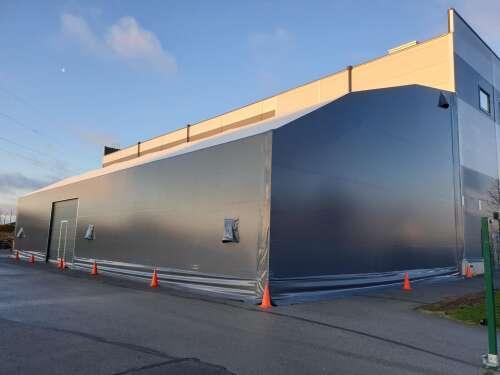 Eesti ettevõtjad lahendavad ruumiprobleeme ilmastikukindla PVC-halli abil