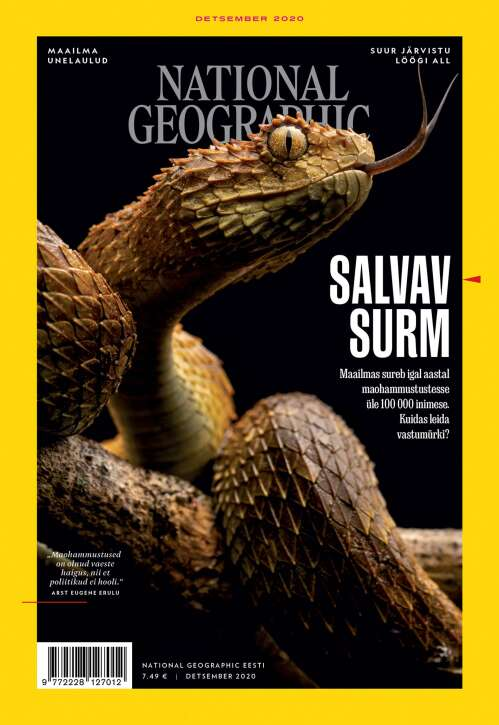National Geographic Eesti, 12/2020
