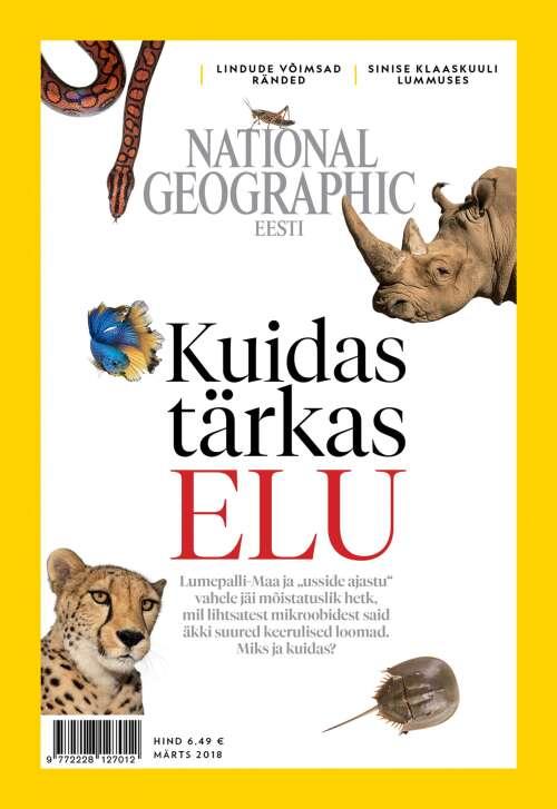 National Geographic Eesti märts, 3/2018