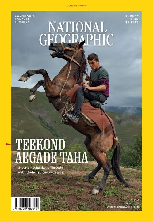 National Geographic Eesti, 6/2021