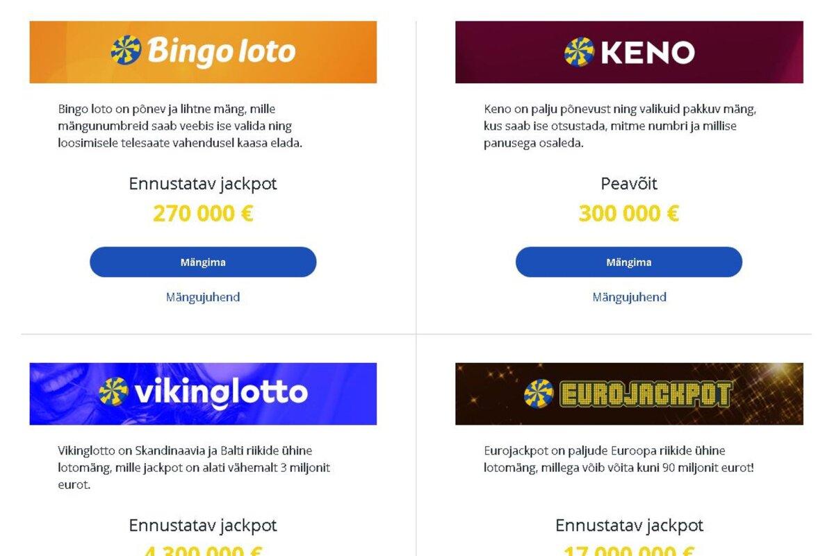 Eesti Loto korraldab rahvusvahelise tarkvarahanke